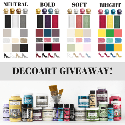 DecoArt Projects Roundup + A GIVEAWAY!