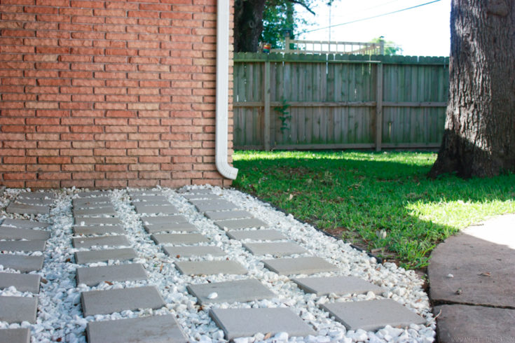 lay patio pavers amber oliver