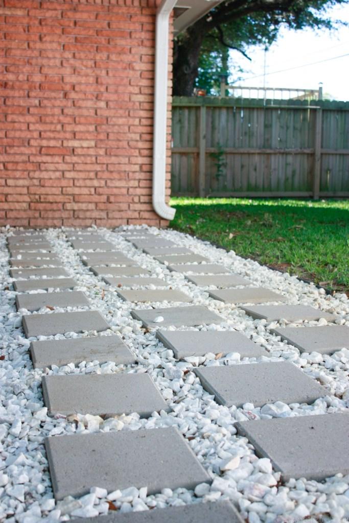 Backyard Update: A Rainwater Drainage Solution