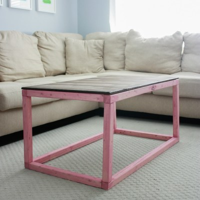 One Room Challenge: Week 4 – DIY Coffee Table