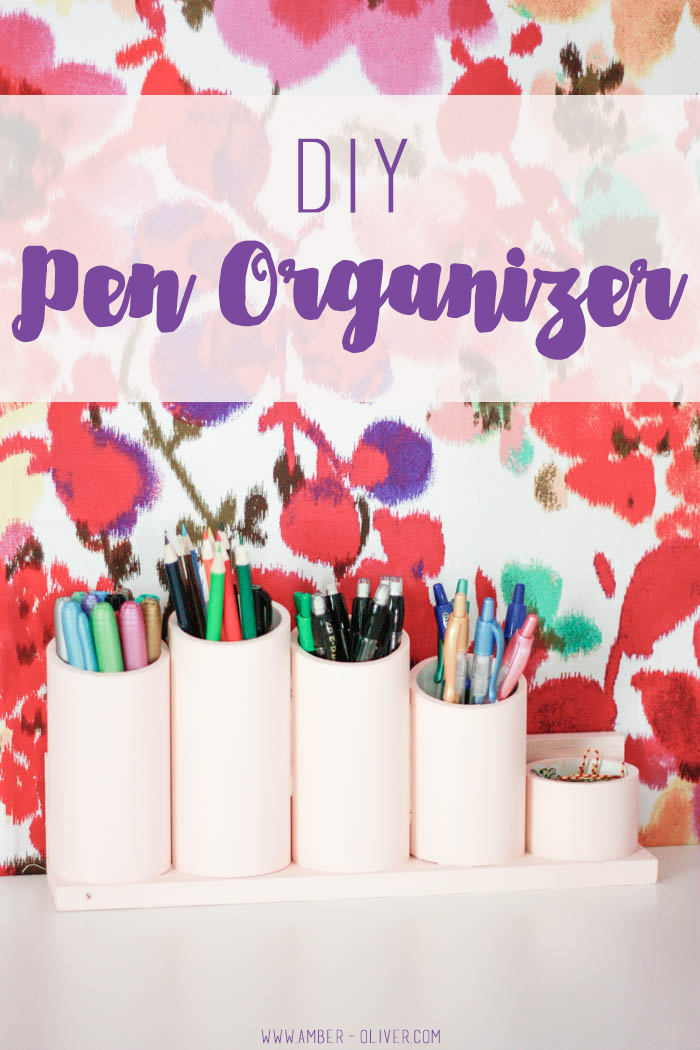 DIY Pen Organizer/ Pen Holder