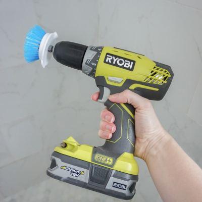 DIY Drill Brush – Make A Drill Scrub Brush