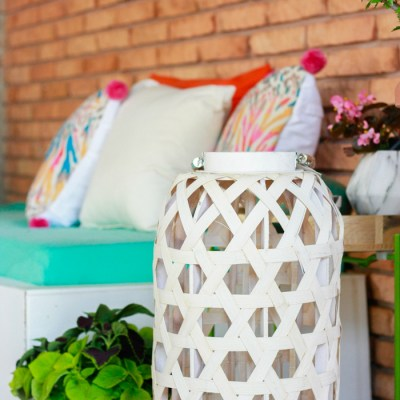 Patio Decorating Ideas: Our Patio Refresh