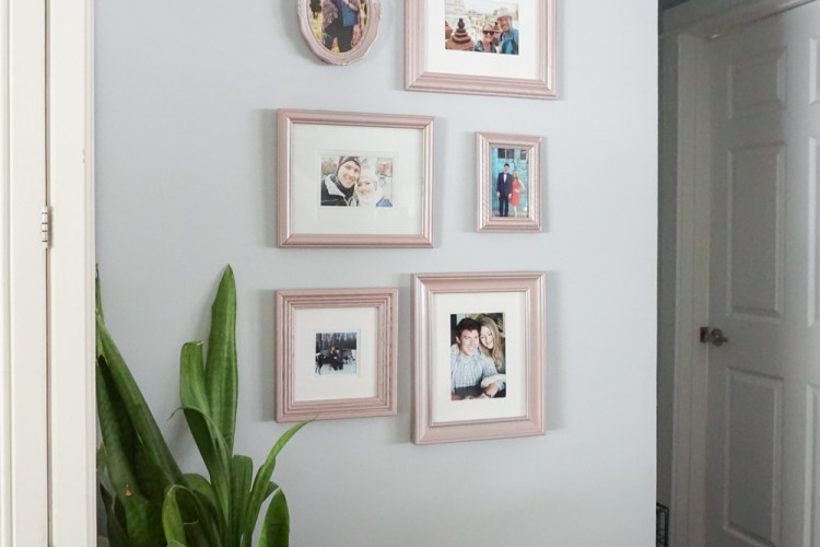 Spray Painting Picture Frames: Thrift Shop Challenge!