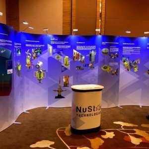 ISOframe Exhibition Stand, available as a Backdrop Rental