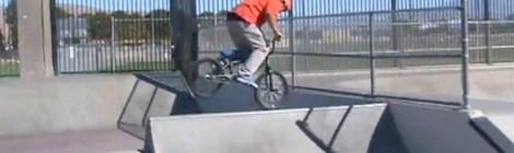 Corey Furmage BMX biking