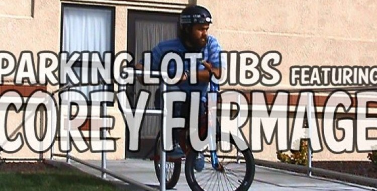 Corey Furmage – Parking Lot Jibs