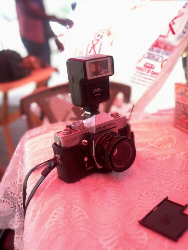 Vintage Camera, shot from the Afro District Stand