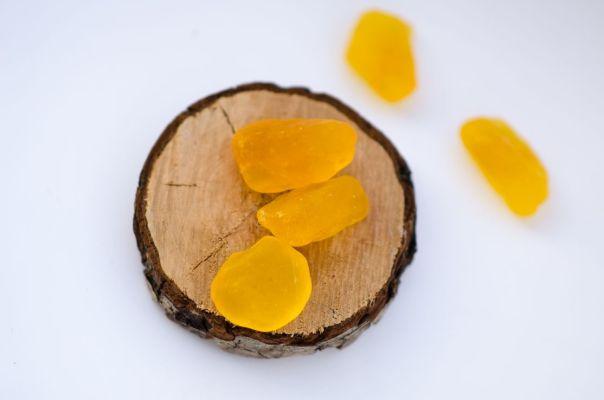 Mydełka amber inclusion
