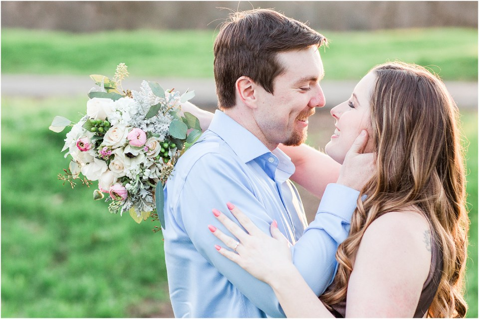 High School Sweethearts Spring Engagement Session Chico California,