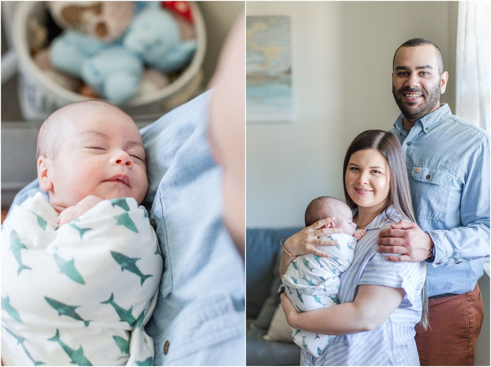 Newborn In-Home Lifestyle Session Northern California,