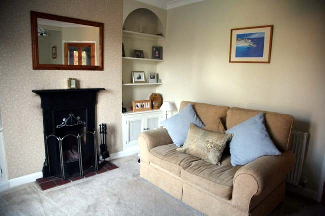 Ambergate Decorators Painted Living Room