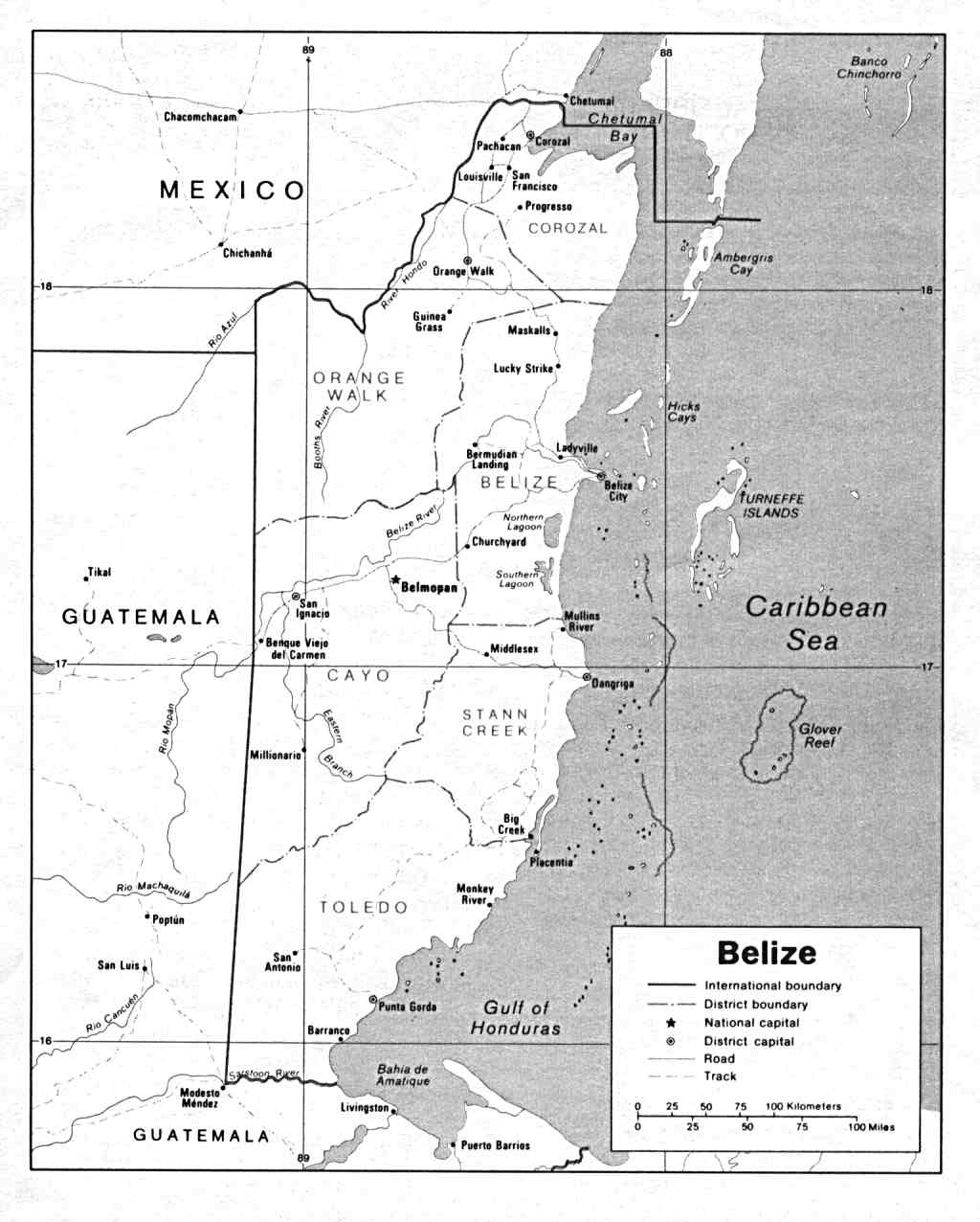 Belize History And General Information Extensive Version
