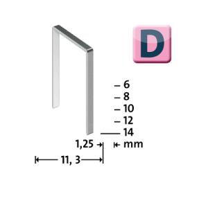 Novus D53F veida skavas tips D-53F