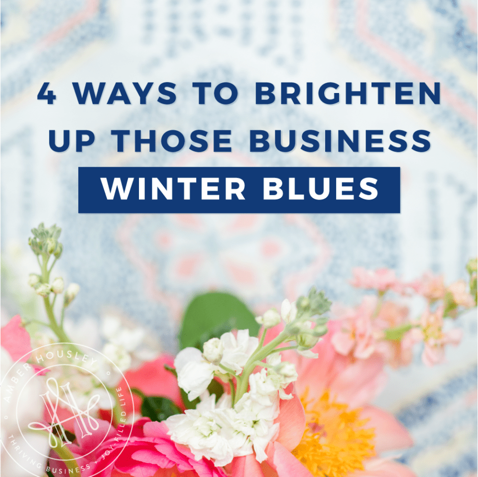 business winter blues
