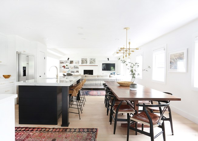 Concepto abierto en la decoración de interiores