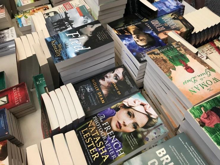 Bestselling books by Natasha Lester, Tea Cooper, Meg Keneally, Isobel Blackthorn
