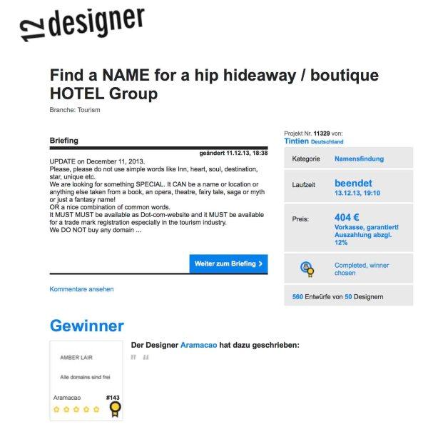 Crowdsourced - Crowdsourcing - Crowdfunding - Boutique Hotel