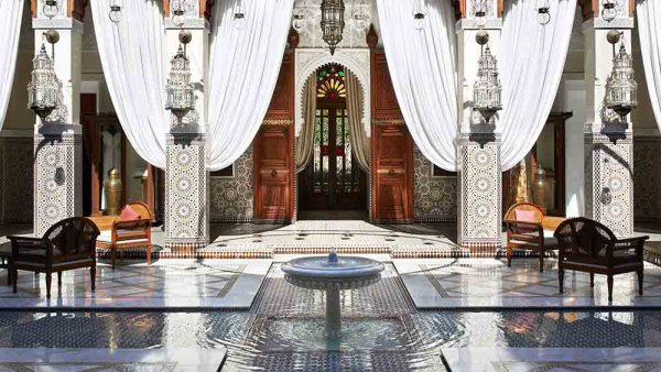 The Royal Mansour in Marrakesh, Morocco. Marianna Hillmer from Weltenbummlermag