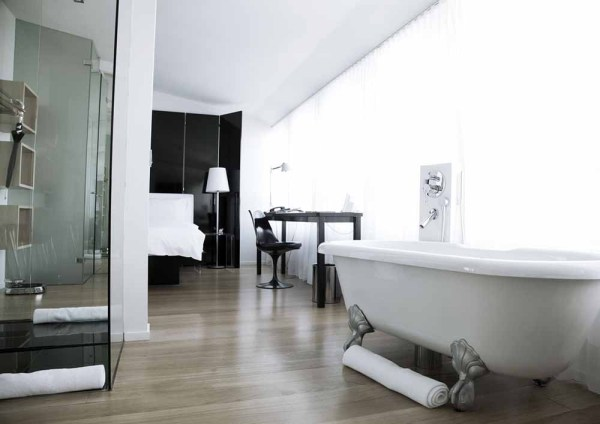 Amberlair Crowdsourced Crowdfunded Boutique Hotel - Bath at 101 Hotel Reykjavik Iceland - design boutique hotels