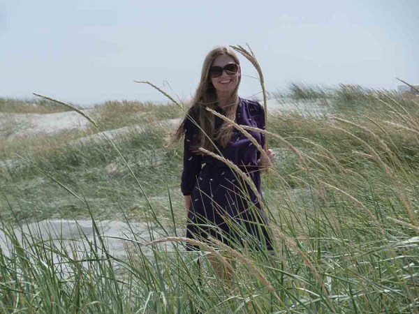 Amberlair Crowdsourced Crowdfunded Boutique Hotel - Kristin Lindenberg at the beach of St. Peter Ording, Germany