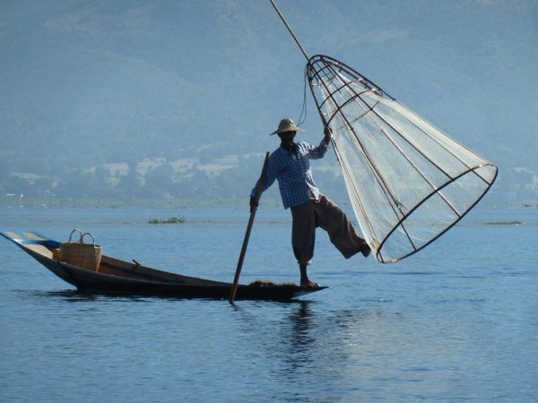 Fishing on the Inle Lake