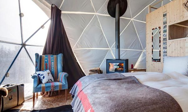 Amberlair Crowdsourced Crowdfunded Boutique Hotel White Pod, winter retreats.