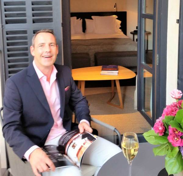 Amberlair Crowdsourced Crowdfunded Boutique Hotel #BoHoLover: Meet Andrew Forbes of The Luxury Editor @andrewaforbes