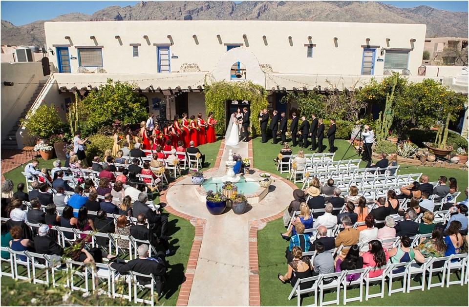 Hacienda Del Sol Ceremony, Tucson, Arizona