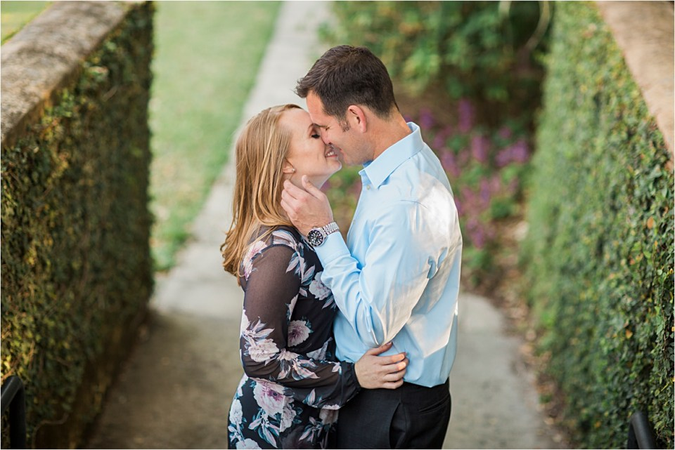 Bok Tower Gardens engagement session in Lake Wales, Florida