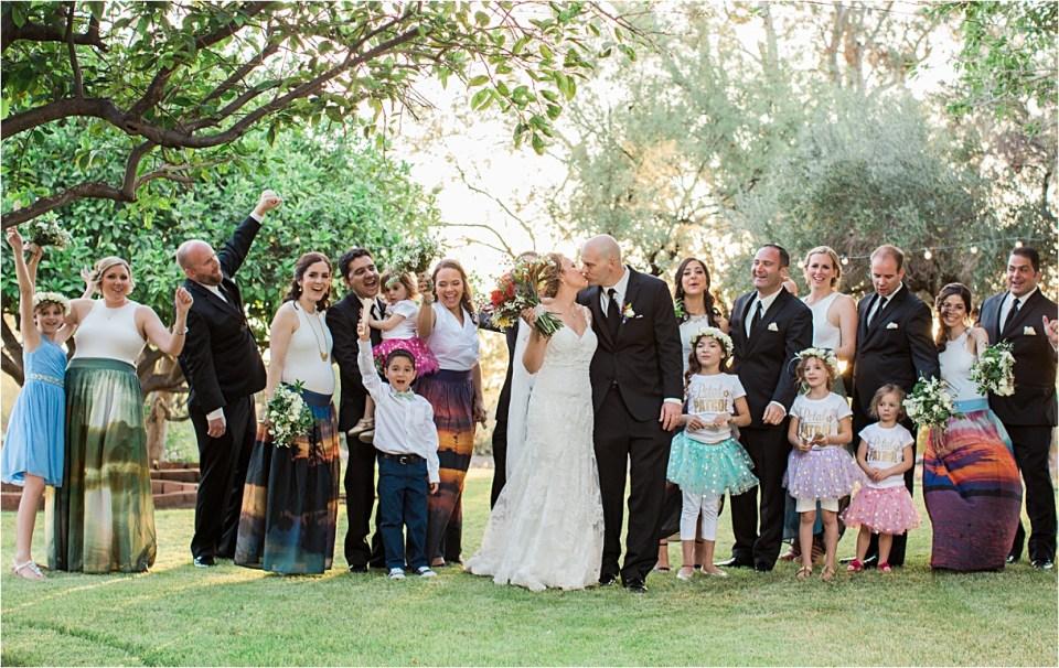 Bridal Party at Reflections at the Buttes, Tucson, Arizona