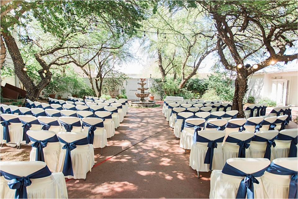 Ceremony Site at Z Mansion, Tucson, Arizona