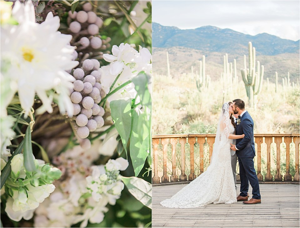 Wedding Ceremony at Tanque Verde Ranch.