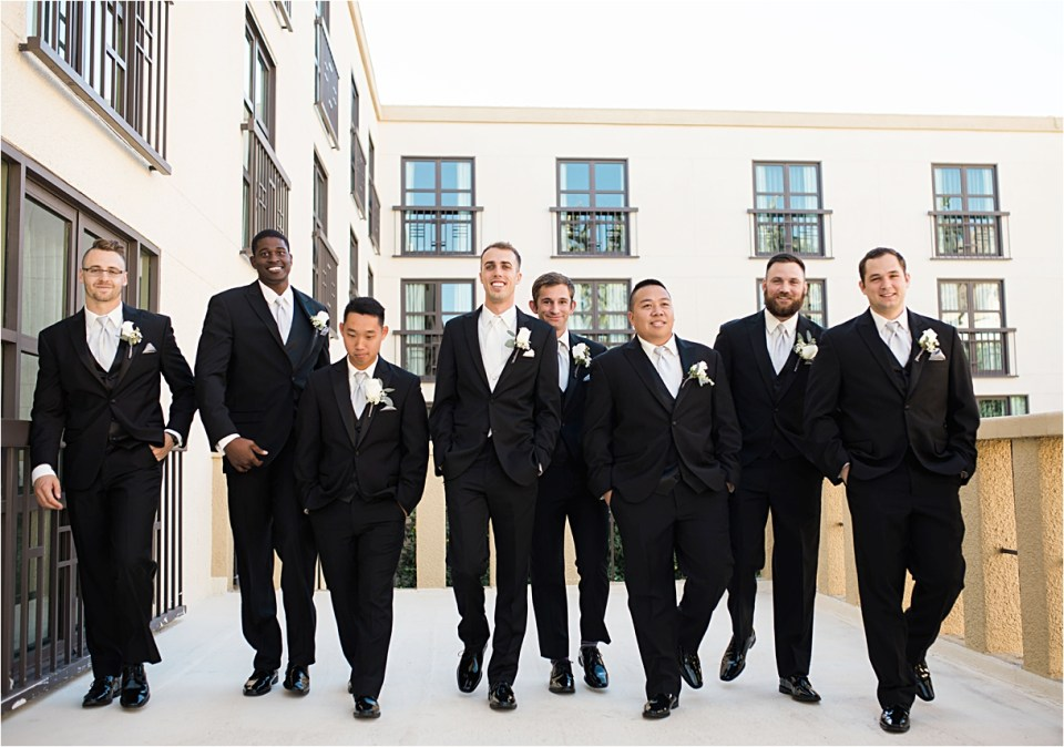 Wedding Party Portraits at Tempe Mission Palms