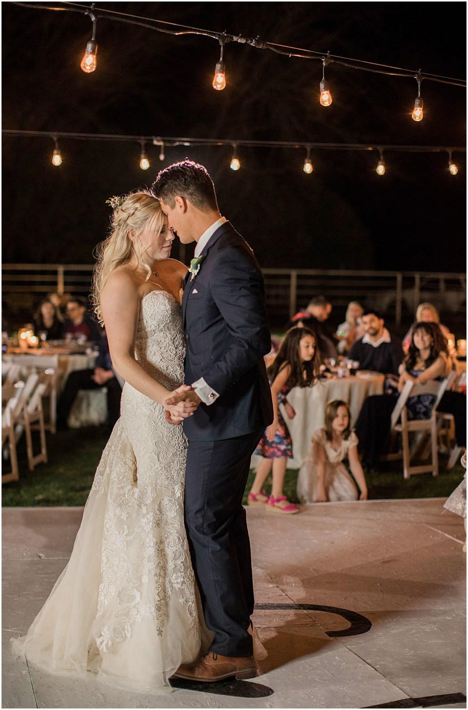 Tucson DIY Backyard Wedding Reception