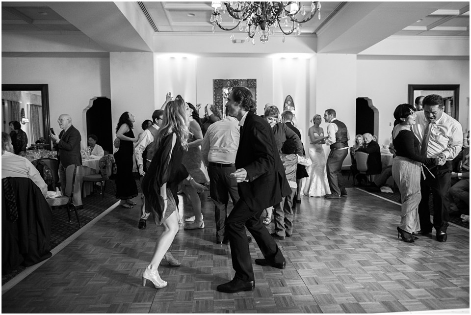 Wedding reception at Historical Arizona Inn, Tucson, Arizona