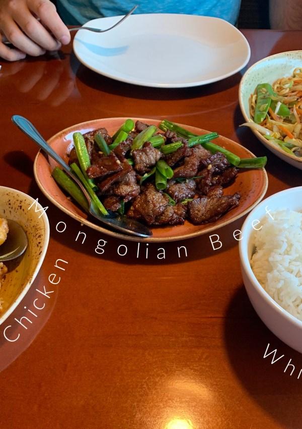 Date Night: P.F. Chang's, Trader Joe's, & Nadia Cakes