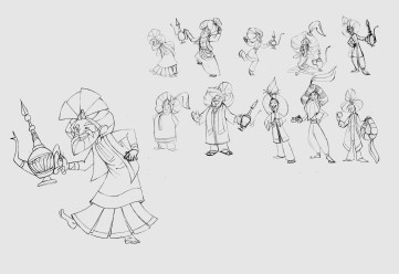 Mad Hatter Sketches