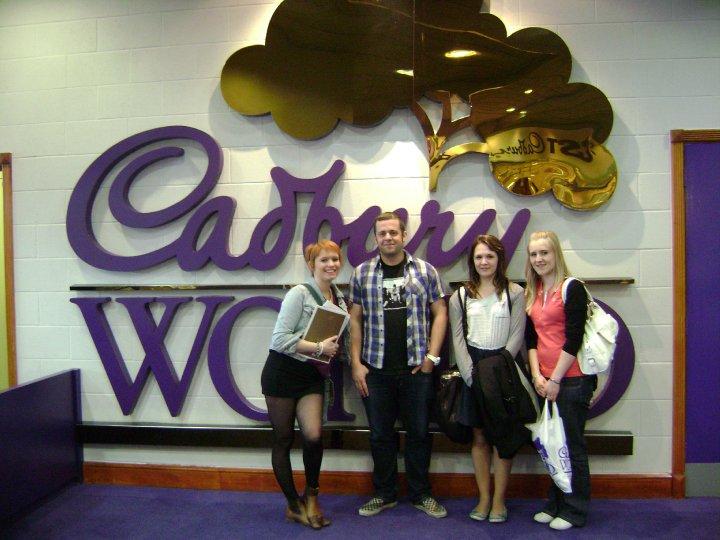 Cadbury World 22/4/10