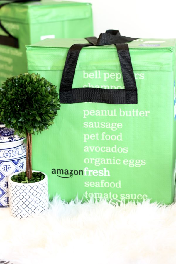 Shopping with Amazon Fresh