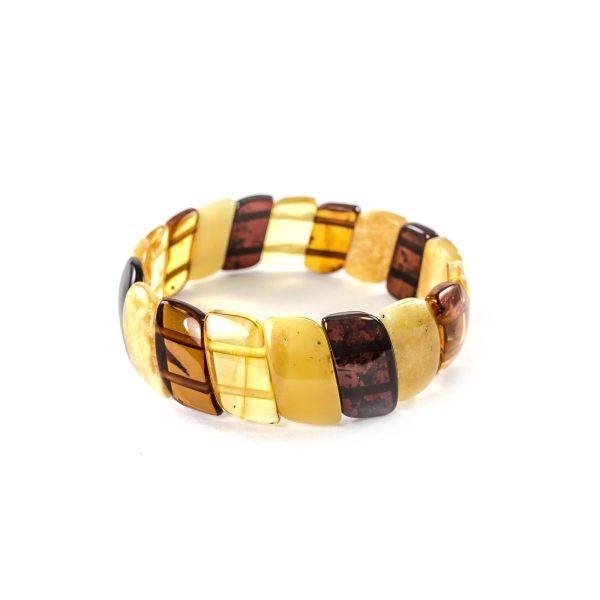 natural-baltic-amber-bracelet-twisted