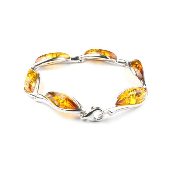 silver-bracelet-with-natural-baltic-venera-cognac-back