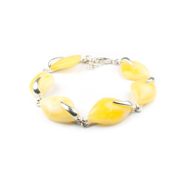 silver-chain-bracelet-with-natural-baltic-amber-heaven
