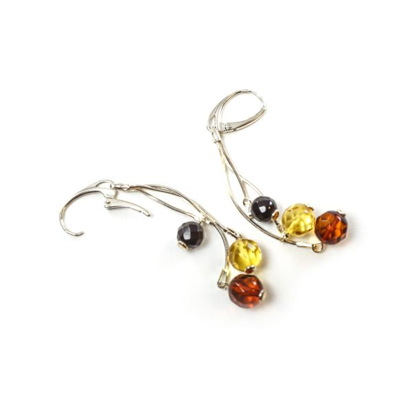 silver-earrings-with-natural-baltic-amber-craberries