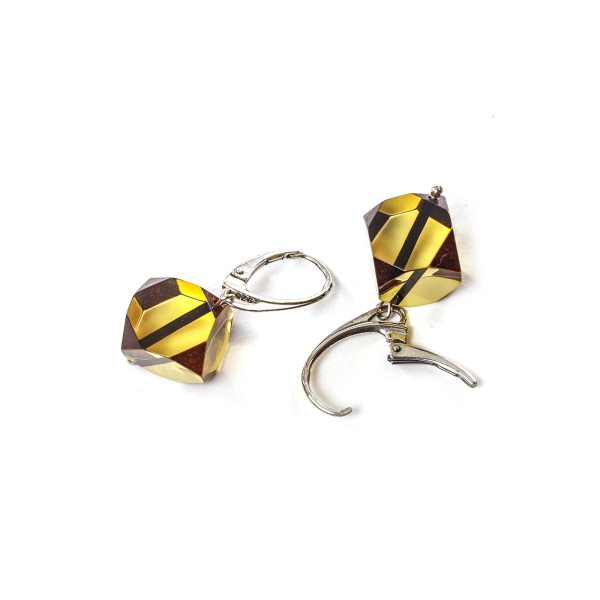 silver-earrings-with-natural-baltic-amber-lucky-dice