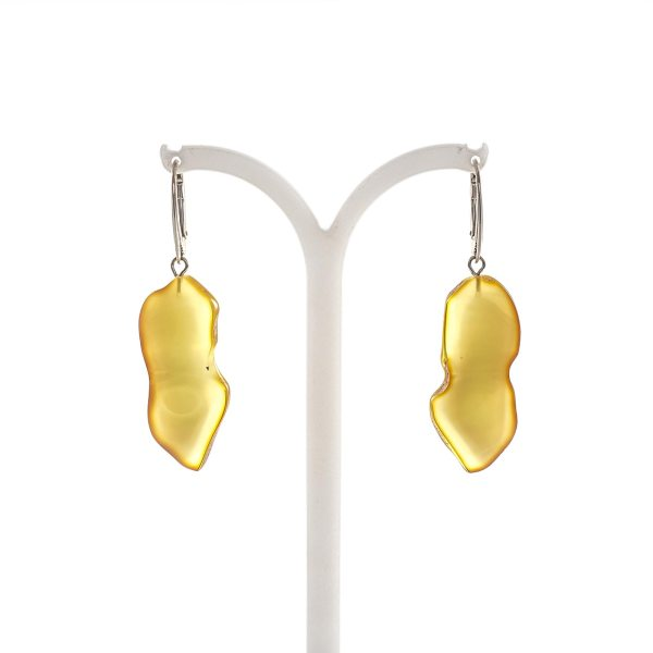 silver-earrings-with-natural-baltic-amber-unique-1