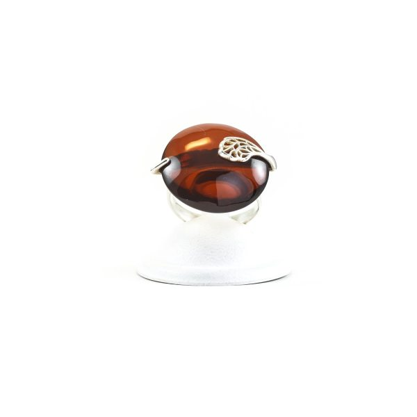 silver-ring-with-cherry-amber-piece-sun-3