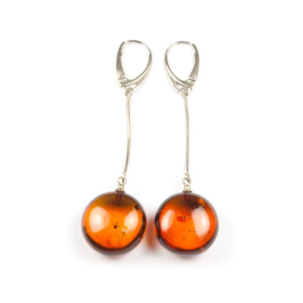earrings-from-natural-baltic-amber-on-silver-chain-cherries