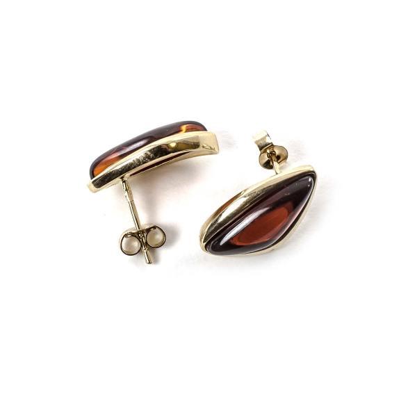 gold-earrings-14k-with-natural-baltic-amber-velvet