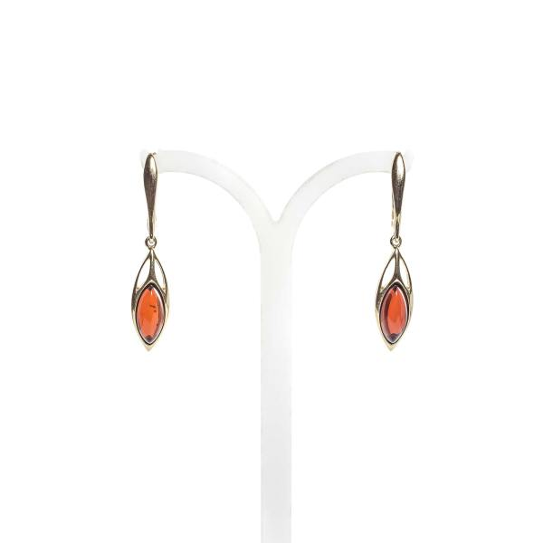 gold-earrings-14k-with-natural-baltic-amber-visavis-cherry-2